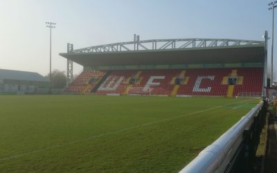 Woking FC going digital – the historical moment of two Card's supporters