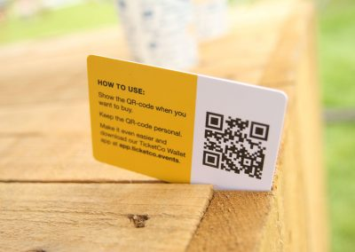 Cashless token cards