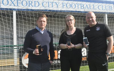 Oxford City Football Club go cashless with TicketCo