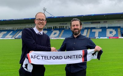AFC Telford Utd. will offer online tickets for the first time