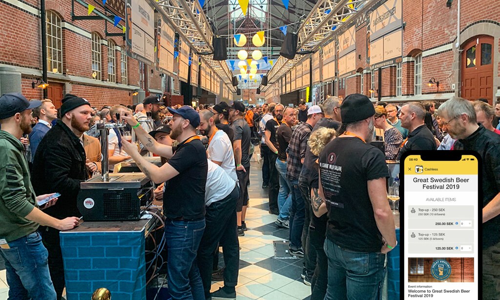 The first Great Swedish Beer Festival was a success!