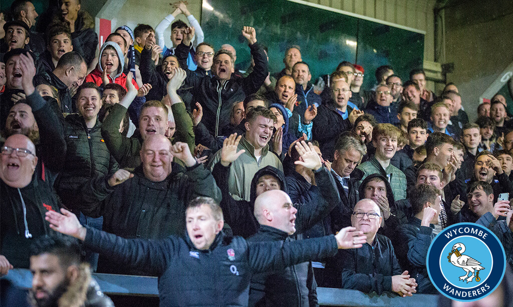Wycombe Wanderers fans embracing digital technology