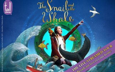 Tall Stories perform virtual tour of The Snail and the Whale in support of regional theatres via pay-per-view live streaming