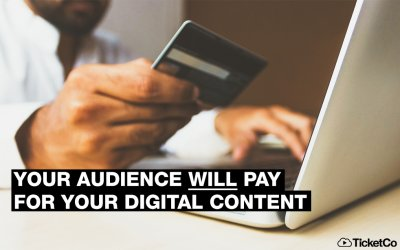 Major event industry research reveals ticket buyers' appetite to pay for online content