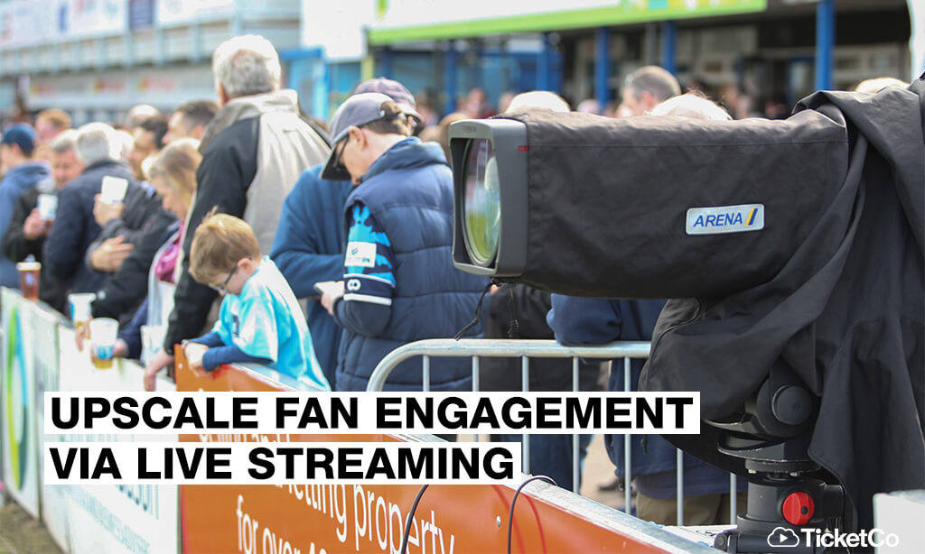 Upscale engagement by embracing sports' hybrid future