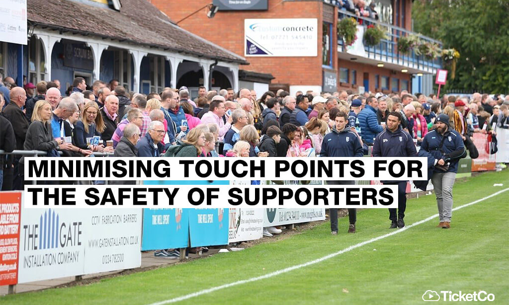 How cashless ticketing will reduce COVID-19 risk in stadiums this summer