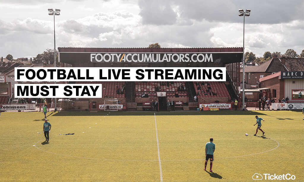 Live streaming must stay for National League clubs, say Altrincham FC