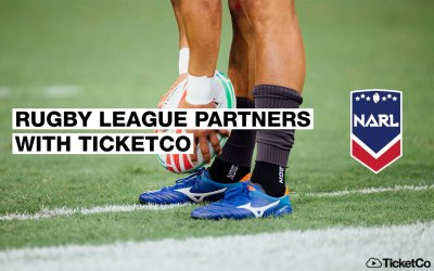The North American Rugby League partners with TicketCo