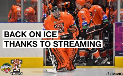 From equipment purchase to global streaming in two weeks: how UK ice clubs have returned to action